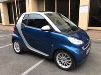 Smart for two 2008 convertible-low mileage-full service history-1 Year MOT