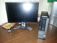 Dell OptiPlex 990 SFF / Quad Core i5 / 4GB / 500GB / INTEL HD GRAPHICS/ WIN7 PRO / HDMI
