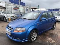 2003 53 DAEWOO KALOS SPORT MODEL WITH BODYKIT AND ALLOY WHEELS LOVELY LOOKING CAR LOW MILES BARGAIN