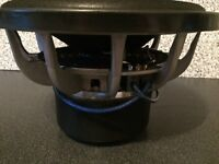 "RE 12"" sub subwoofer 600RMS ( not pioneer vibe rockford edge orion fli )"