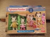 Sylvanian families beach fun set