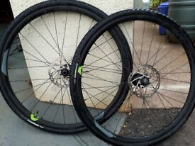 29er mountain bike cross country wheels and tyres