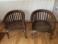 Children's wood chairs