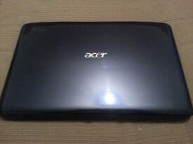 Acer Aspire 5542 (Blue) Dual Core, 4GB Ram, Spares or Repair