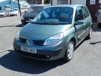 05/55 Renault Scenic 1.6 Dynamique MPV, Automatic, Green.**New Timing Belt , Part Service History**