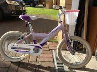 Girls Bike Claude Butler age 3-6