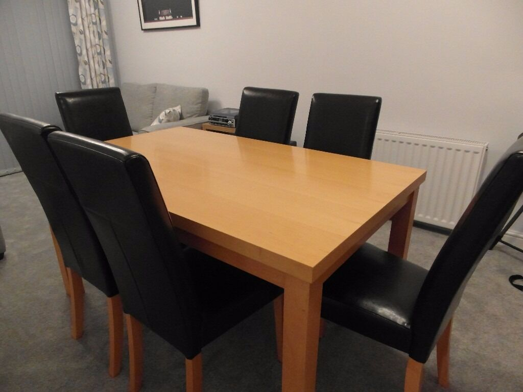 Reduced - Dining Table and Chairs