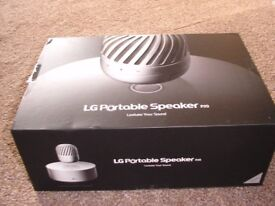 BRAND NEW LG PORTABLE LEVITATING SPEAKER PJ9. WORTH £250. AMAZING !!