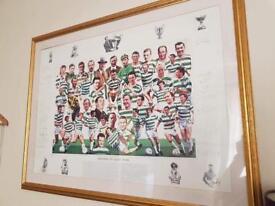 Celtic legend signed photo