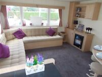 Static caravan for sale Devon luxery 3 bedrooms sited Bideford Bay Holiday Park by the coast