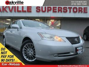 2007 Lexus ES 350 YOU CERTIFY YOU SAVE | SUNROOF | LEATHER | NAV