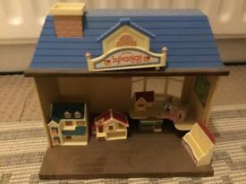 Sylvanian families dolls house shop