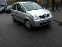2004 Vauxhall Meriva 1.6 Manual Petrol Long Mot Full Service History Only £875