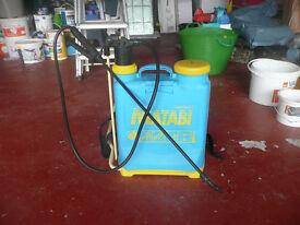 Garden knapsack sprayer