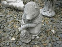 ORNATE STONE GARDEN FEATURE 'MOLE GARDENER' VIEWING / DELIVERY AVAILABLE