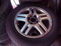 "Ford Focus 15"" Alloy Wheel and Tyre"