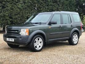 2006 LAND ROVER DISCOVERY 3 TDV6 HSE AUTO 147K FSH CHEAP TAX BAND