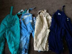 12-18m dungarees.