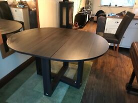 Fold Up Dinning Table Inc 4 Chairs