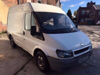 2004 (54) FORD TRANSIT 2.0TD 280 SWB, DIESEL, STARTS AND DRIVES, SOLD AS SPARES OR REPAIR, NO MOT