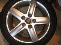 Genuine audi alloy wheel 235/45/17