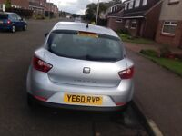 Silver Seat Ibiza 1.2. , 1 year MOT, Low Mileage