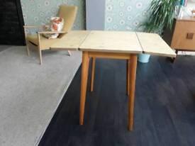 Vintage retro dropside table.