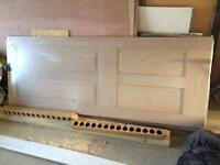 4 panel fire oak door internal