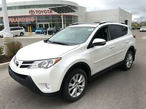 2014 Toyota RAV4 LOADED LIMITED! SPOTLESS THROUGHOUT!