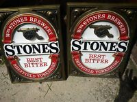 Stones Brewery Wall plaques