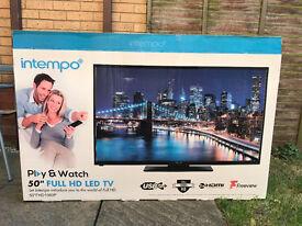 """50"""" Intempo FULL HD LED TV"""
