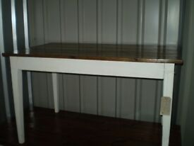 Vintage 4 ft Dining Table
