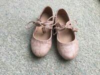 Girl party shoes from next size 8 - very good condition