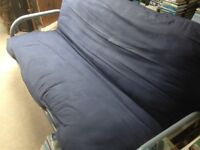 Futon 2 Seat Sofa Bed