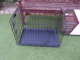 RAC medium fold flat dog crate