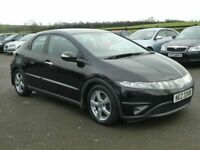 2007 Honda Civic 1.8 petrol se only 75000 miles, motd May 2021 all cards welcome