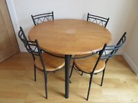 Kitchen Table c/w Four Chairs