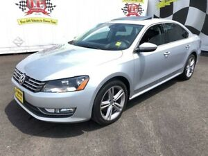 2012 Volkswagen Passat 2.5L, Highline, Auto, Leather, Sunroof