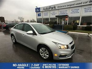 2016 Chevrolet Cruze Backup Camera| Bluetooth| Keyless entry