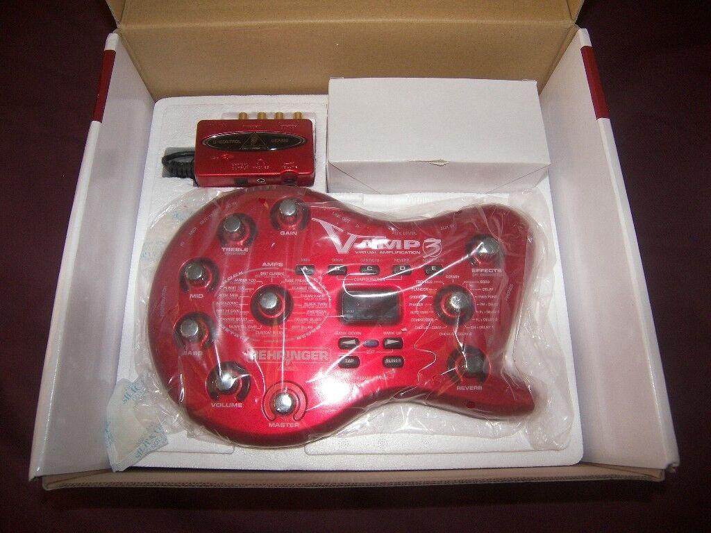 Behringer V-AMP3 / V-Amp 3 , Next Generation Guitar Multi Effects Processor. / As New !