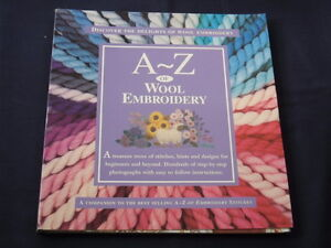 A-Z-OF-WOOL-EMBROIDERY-Companion-to-A-Z-of-Embroidery-Stitches-SEWING-BOOK