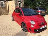 2010 Amazing example of 5 door Abarth Red 500 1.4 t.jet 16v
