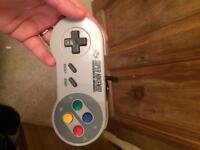 Super Nintendo snes controller