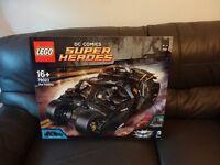 Lego DC Comics Super Heroes 76023 The Batman Tumbler Retired set Brand New Sealed