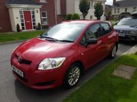 2008 TOYOTA AURIS 1.4 VVTI T2, ONLY 68K, NEW CLUTCH, GREAT SERVICE HISTORY & 3 MONTH WARRANTY!!