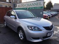 Mazda3 1.6 petrol hatchback 5 door. Free warranty. New mot