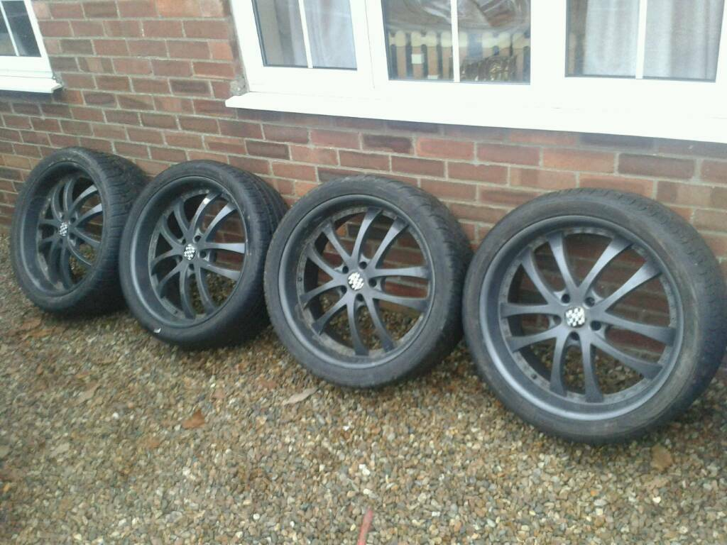 22 Inch Alloy Wheels Fits Range Rover Bmw X5 Vw Etc