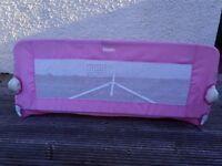 Summer Infant Folding Bedrail in Pink