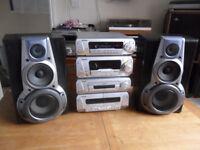 Technics SA EH760 Amplifier CD Player Tuner & Speakers 120 Watt