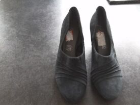 Footglove by M&S Dark Teal shoes size 5.5